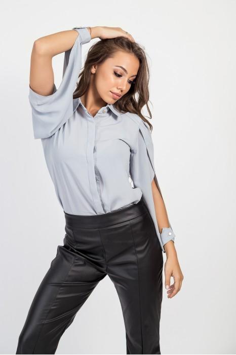Риза с рязан ръкав